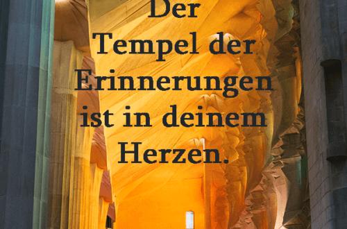 Tempel, Erinnerung, Herz